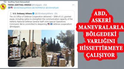 ABD'den Yunanistan Özel Kuvvetleri'ne askeri yardım