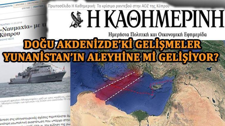"""Kathimerini: """"Kahire'den Ankara'ya açık kapı"""""""