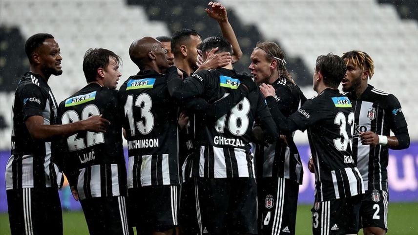 Beşiktaş üst üste 5. galibiyetini aldı