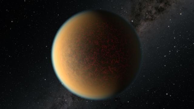 Yeni bir atmosfer oluşturan öte gezegen görüntülendi