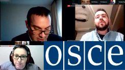 Η τουρκική αντιπροσωπεία Δυτικής Θράκης στην πρώτη συνάντηση της Ανθρώπινης Διάστασης του ΟΑΣΕ για το 2021