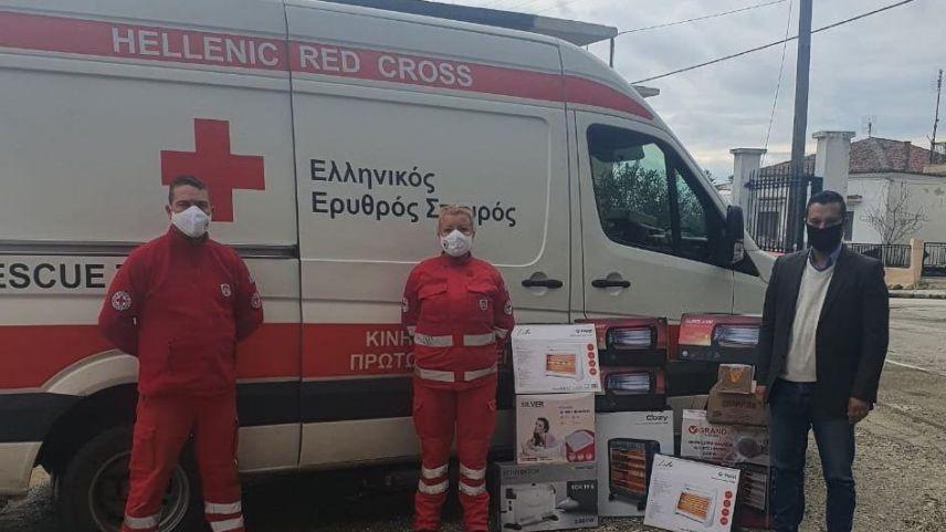 Yassıköy Belediyesi'nden Alasonya depremzedelerine yardım