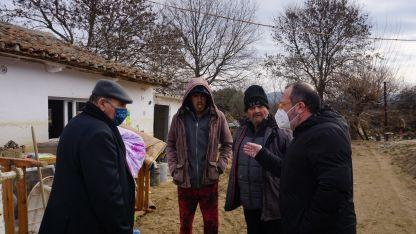 Karagözlülü sel mağdurlarına 35 bin 664 euroluk destek