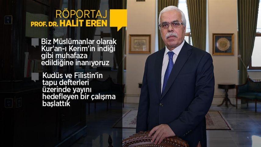 Prof. Dr. Halit Eren: İslam kültür, sanat ve tarihine adanan 40 yıl