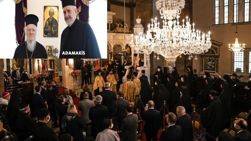 Giritli Adamakis, Türkiye vatandaşlığına alınarak Kadıköy Metropoliti oldu