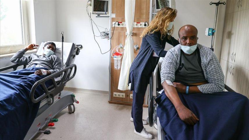 Yunanistan unsurlarınca kelepçelenerek denize atılan sığınmacı, 3 gün sonra bulundu