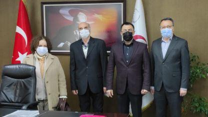 BTTDD Bakırköy Şubesi yöneticilerinden hastane ziyareti