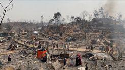 Mülteci kampında yangın: En az 15 ölü