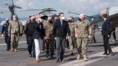 Miçotakis: ABD ile Yunanistan arasındaki askeri iş birliği son derece yüksek seviyede