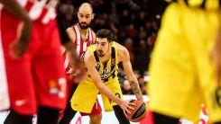 Fenerbahçe Beko, deplasmanda Olympiakos'u 76-71 mağlup etti
