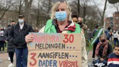 Hollanda: Polisin öldürülen Türk genciyle ilgili ırkçı söylemleri protesto edildi