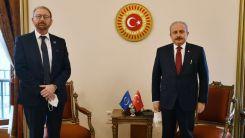 TBMM Başkanı Şentop, AKPM Başkanı Daems'a Batı Trakya Türklerinin sıkıntılarını hatırlattı