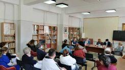 Syriza'nın yerel yöneticilerinden hastaneye ziyaret