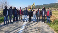 Susurköy – Kozlardere yolunda onarım çalışmaları başladı