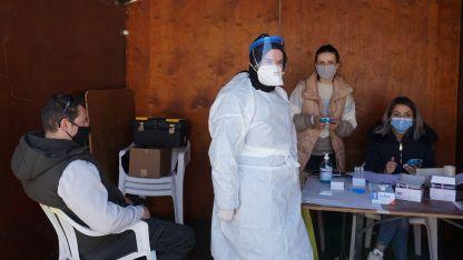 Gümülcine'de ücretsiz rapid testler devam ediyor