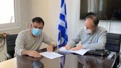 Asfaltlama ve çimentolama çalışmaları için sözleşme imzalandı