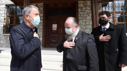 Gökçeada Rum cemaatinden Türk Silahlı Kuvvetlerine teşekkür