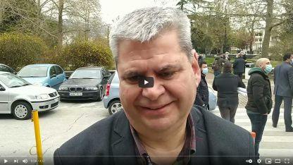 Milletvekili Hüseyin Zeybek encümen seçimleri eylemi sonrası açıklamalarda bulundu