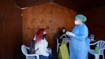 Gümülcine'de bugün 153 vatandaş rapid testi yaptırdı
