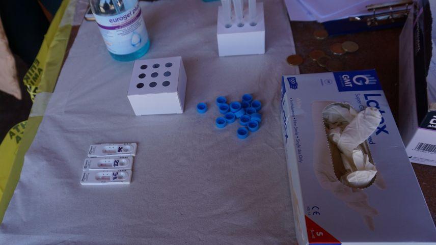 Gümülcine'de yapılan rapid testlerin sonuçları açıklandı