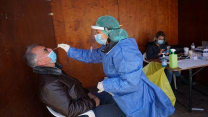 Gümülcine'de bugün toplam 172 vatandaş rapid testi yaptırdı