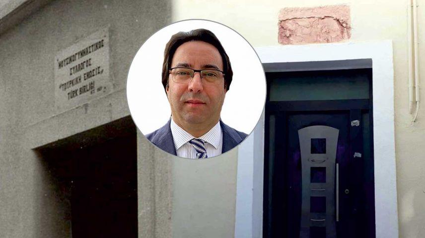 İskeçe Türk Birliği Başkanı Ozan Ahmetoğlu Bakan Dendias'a seslendi