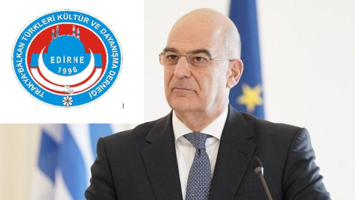 Trakya Balkan Türkleri Kültür ve Dayanışma Derneğinden Dendias'a tepki