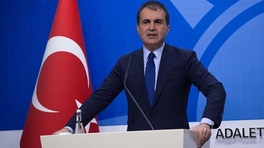 """Çelik: """"Dendias Ankara'ya değil, Atina'ya konuşmaya gelmiş"""""""