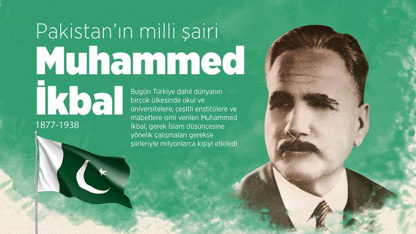 Pakistan'ın milli şairi Muhammed İkbal