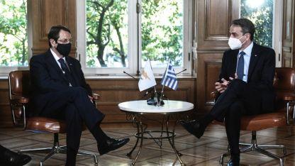 Rum lider Anastasiadis, Cenevre'de yapılacak Kıbrıs konulu toplantı öncesi Atina'da