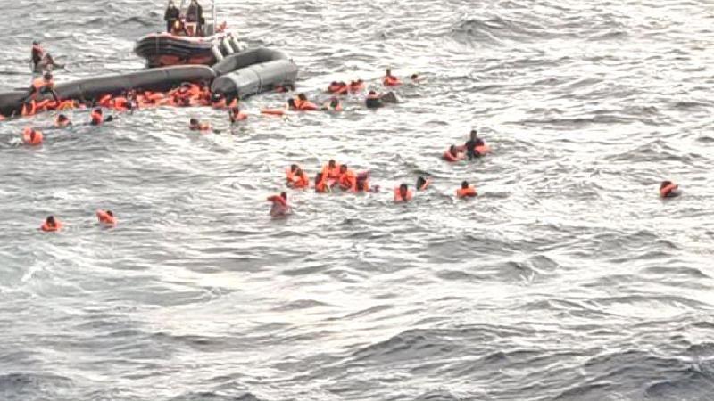 Akdeniz'de facia: En az 100 kişi öldü
