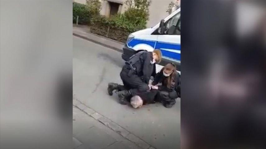 Almanya'da Türk iş adamı polis şiddetine maruz kaldı
