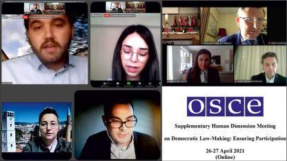 Batı Trakya Türk heyeti AGİT Ek İnsani Boyut Toplantısı'na katıldı