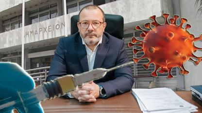 Belediye Başkanı Yannis Garanis'ten vatandaşlara aşı çağrısı