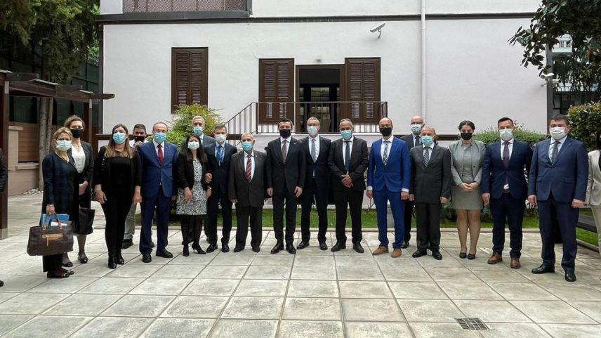 Yavuz Selim Kıran Selanik ziyaretini tamamladı