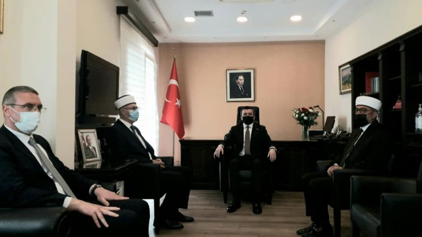 Dışişleri Bakan Yardımcısı Kıran, Batı Trakya Türk Azınlık temsilcileriyle görüştü