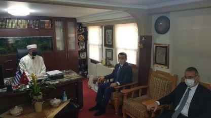 Türkiye Dışişleri Bakan Yardımcısı Kıran, İskeçe'de