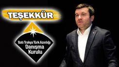 Danışma Kurulu T.C. Dışişleri Bakan Yardımcısı Kıran'ın ziyaretini değerlendirdi