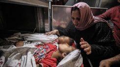 Katil İsrail'in Gazze'ye saldırısında 9'u çocuk 20 kişi şehit oldu
