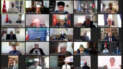 """Müftülerimiz """"Mescid-i Aksa ve Kudüs"""" olağanüstü gündemiyle düzenlenen toplantıya katıldılar"""