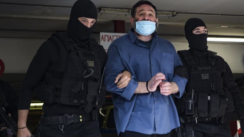 Belçika'da tutuklanan ırkçı milletvekili Lagos, Atina'ya getirildi