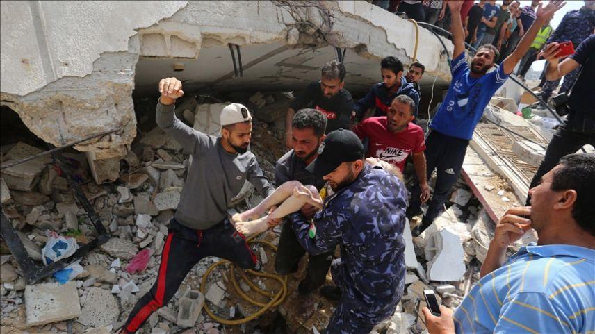 Filistinli sivillere göre Gazze'de savaştan öte bir katliam yaşanıyor