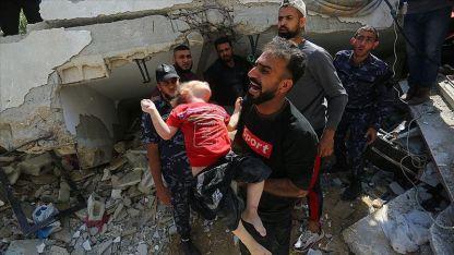 İsrail saldırılarına kurban giden çocukların sayısı her gün artıyor
