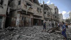 Travma tedavisi gören 11 Filistinli çocuk İsrail hava saldırılarında öldü