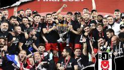 Şampiyon Beşiktaş Türkiye Ziraat Kupası'nı da kazandı