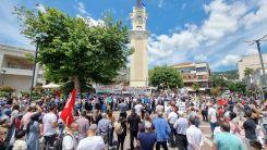 İsrail zulmü Batı Trakya'da protesto edildi