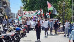 Filistin'deki İsrail zulmü İskeçe'de protesto edildi