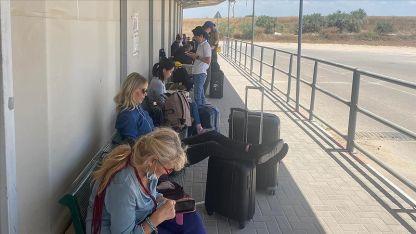 İsrail Gazze'ye açılan sınır kapılarını kapattı