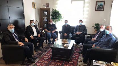 Encümenler Derneği'nden Başkonsolos Ömeroğlu'na ziyaret