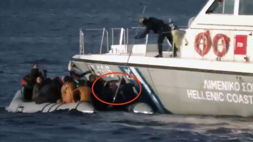 Kuzey Ege'de ölüme terk edilen 46 kaçak göçmen kurtarıldı